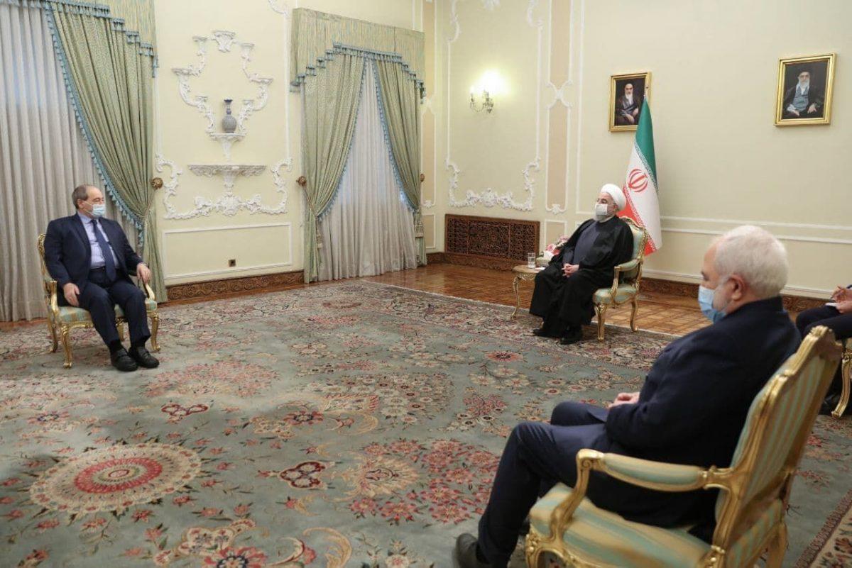 روحانی: روابط ایران و سوریه برادرانه و راهبردی است