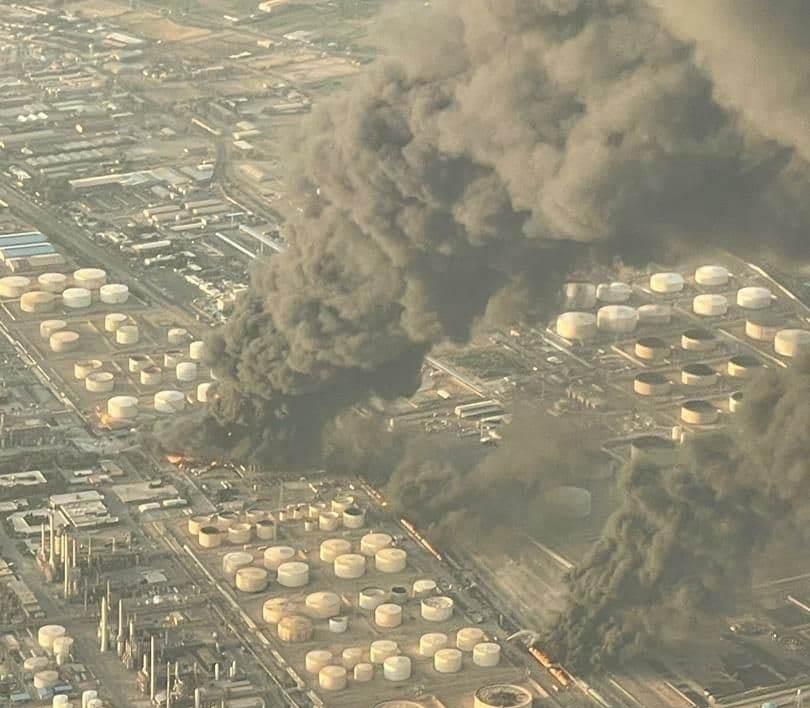 آخرین خبرها از آتشسوزی پالایشگاه تهران
