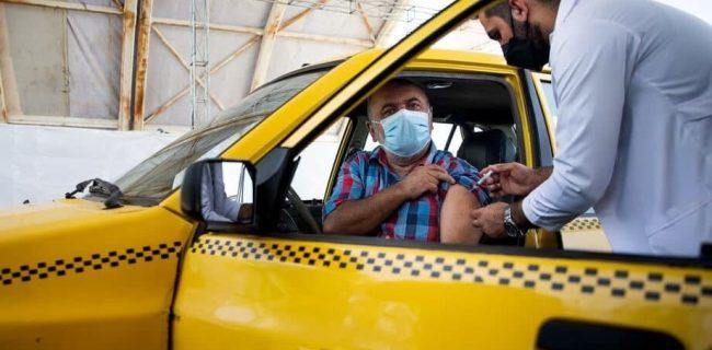 آغاز واکسیناسیون رانندگان اسنپ و تپسی